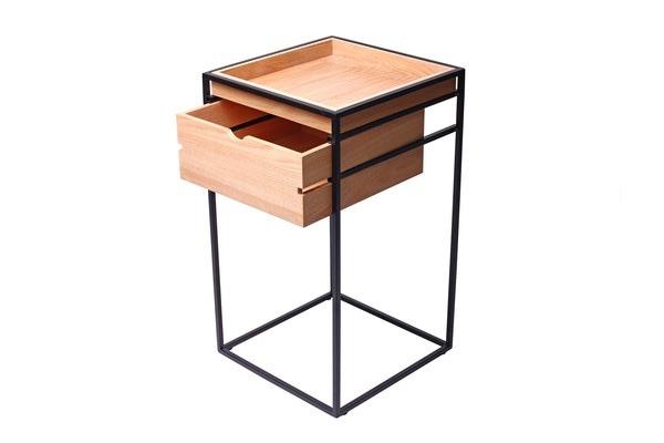 Cajonera de acero y madera mueble dise o moderno mueble for Diseno de muebles de madera