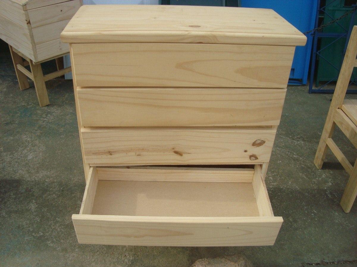 Cajonera de madera seca a horno estilo rustico o campo - Cajonera de madera ...