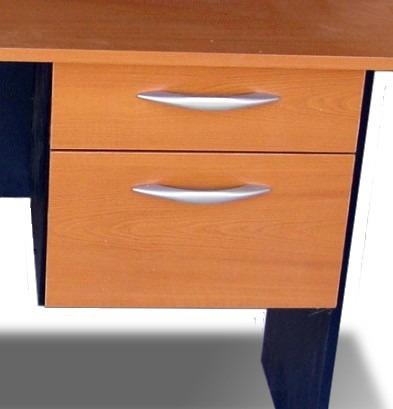 Cajonera doble con llave para escritorio 1 en mercado libre for Muebles de oficina con llave