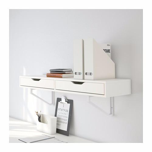 cajonera empotrable pared ikea modelo ekby alex 2 en mercado libre. Black Bedroom Furniture Sets. Home Design Ideas