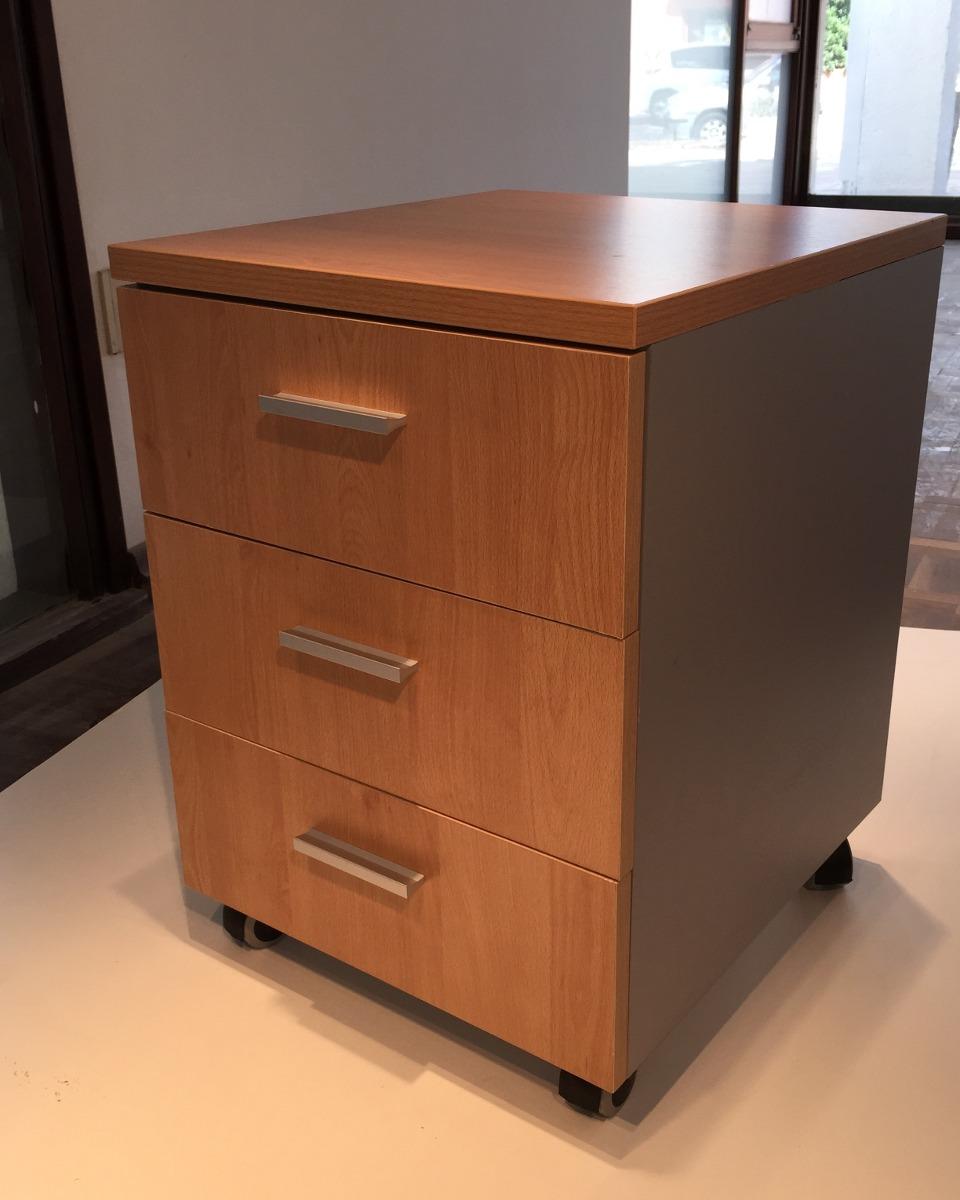 Cajonera movil 3 cajones oficina escritorio 35x45x60 blanco u s 89 00 en mercado libre - Escritorio cajones ...