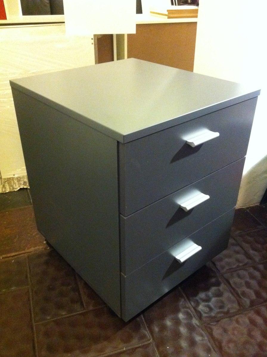 Cajonera movil 3 cajones oficina escritorio 35x45x60 - Cajonera de oficina ...