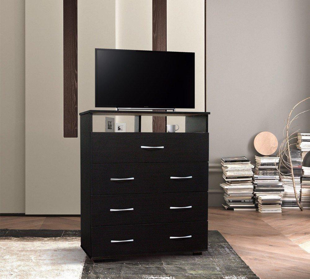 remates mx cajonera para recamara chocolate mueble tele 1 en mercado libre. Black Bedroom Furniture Sets. Home Design Ideas