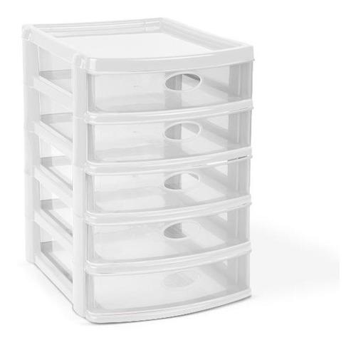 cajonero de mesa joyero plastica 5 niveles organizador mq