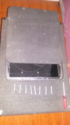 cajones de bajos 18 originales turbo sound madera compuesto