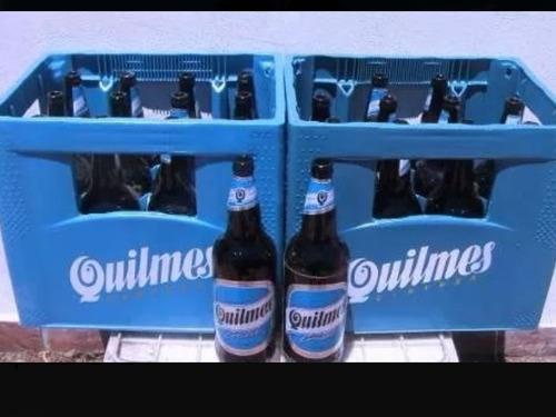 cajones de cerveza (esqueleto y 12 envases)