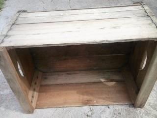 Cajones de feria de madera frutas y verduras pallet palet 210 00 en mercado libre - Cajones de fruta de madera ...