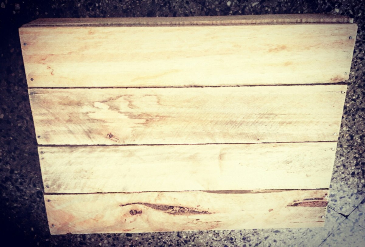 Cajones de madera feria nuevos de frutas y verduras - Cajones de fruta de madera ...