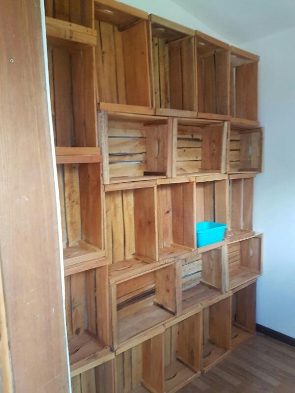 Cajones de madera para frutas y verdura y para muebles for Diseno de muebles con cajones de verduras
