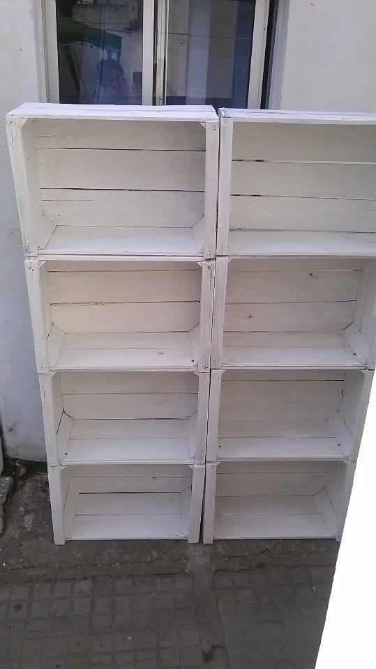 Cajones de madera pintados 380 00 en mercado libre - Cajones de madera ...