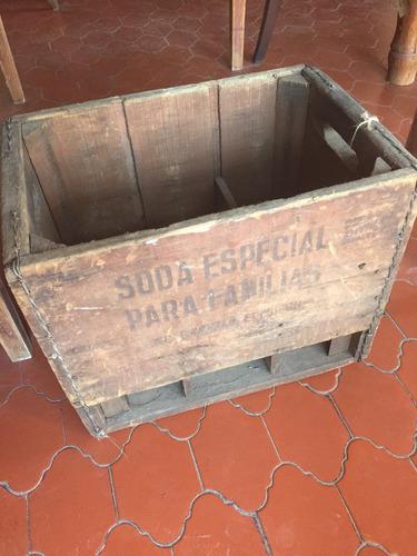 cajones de soda antiguos