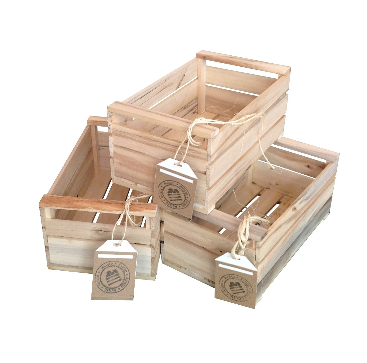 Cajas de madera para decorar comprar com anuncios de - Cajas madera fruta ...