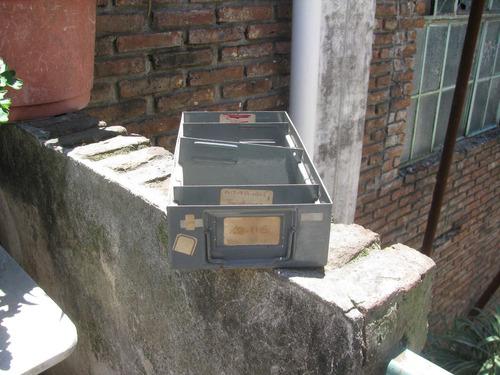 cajones/ gavetas metálicos para estanteria