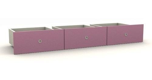cajones inferiores x 3 mueble la valenziana color a eleccion