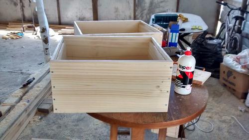 cajones para abejas, alzas, 100% pino seco cepillado