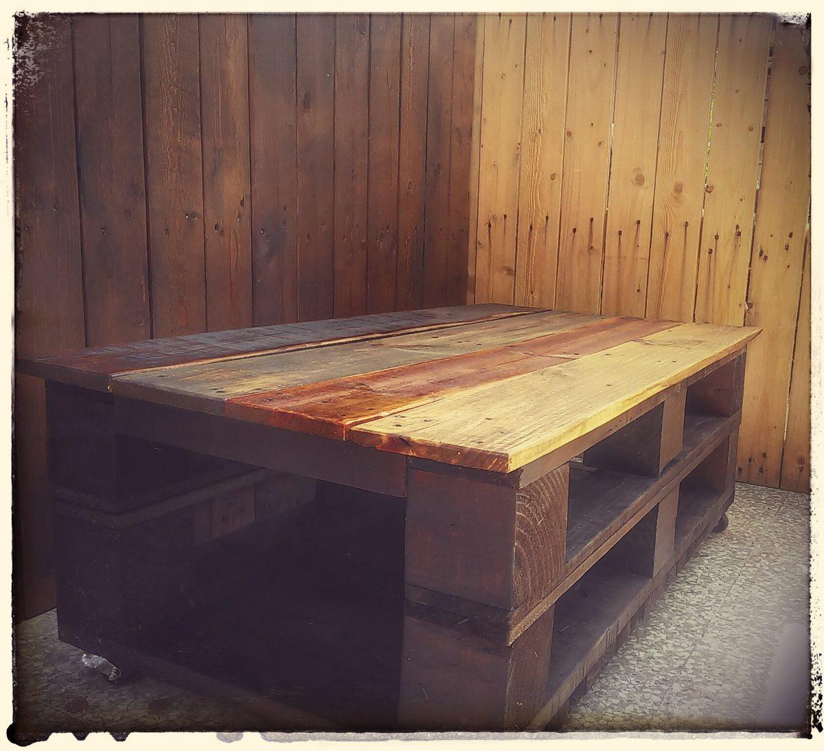 mesas de palet cargando zoom - Mesas De Palet