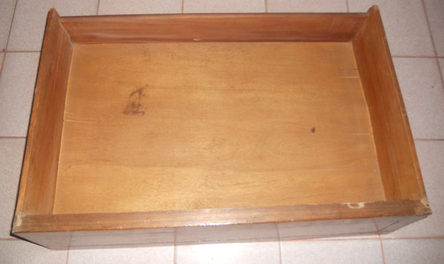 cajones sueltos usados en madera.