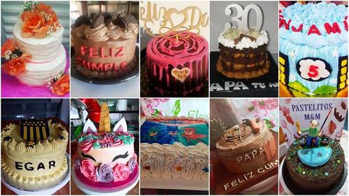 cake number $850 1 unidad