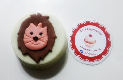 cake pops y oreos bañ. toy story, san valentin y màs! x 6 u