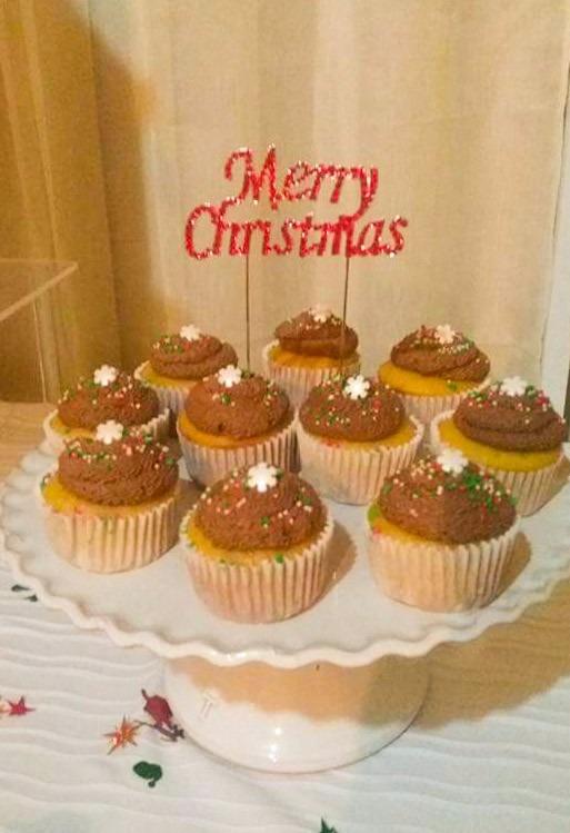 Cake Topper Adorno Pastel Navidad Y Ano Nuevo 250 00 En Mercado