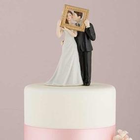 f96b6f293fa Cake Topper Novios picture Perfect Weddingstar Boda Pastel