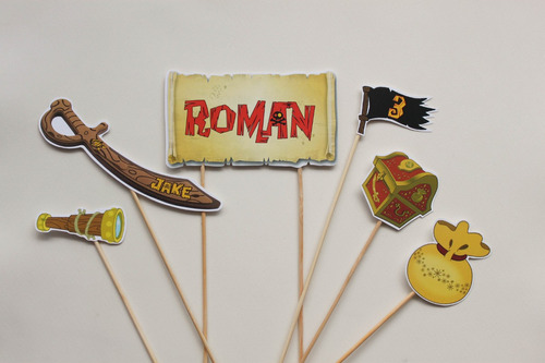 cake topper superheroes toystories mickey zoe jake piratas