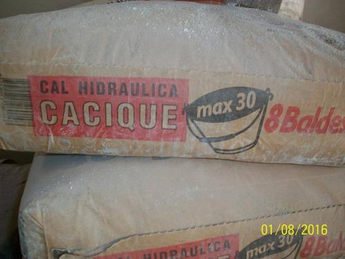 cal cacique 30 kg entrgas en caba sur de buenos aires