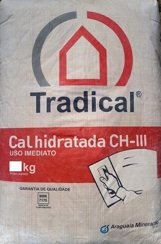 cal hidratada = cal extinta = hidróxido de cálcio - 5 kg