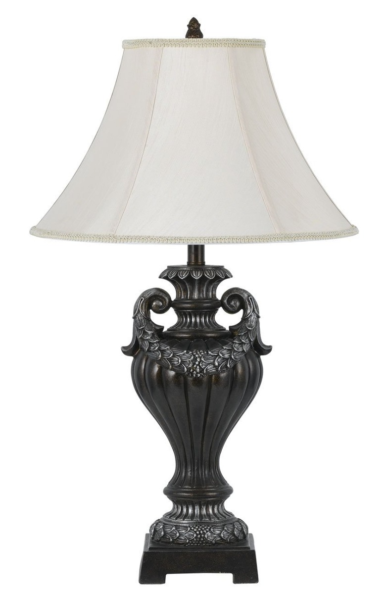 Cal lighting bo 2305tb 150 watt 3 way grove resin table lamp resin table lamp cargando zoom aloadofball Gallery
