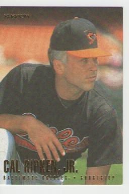 cal ripken jr, fleer 1996