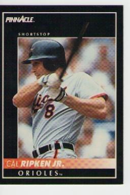 cal ripken jr, pinnacle 1992