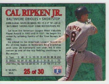 cal ripken jr, post 1994