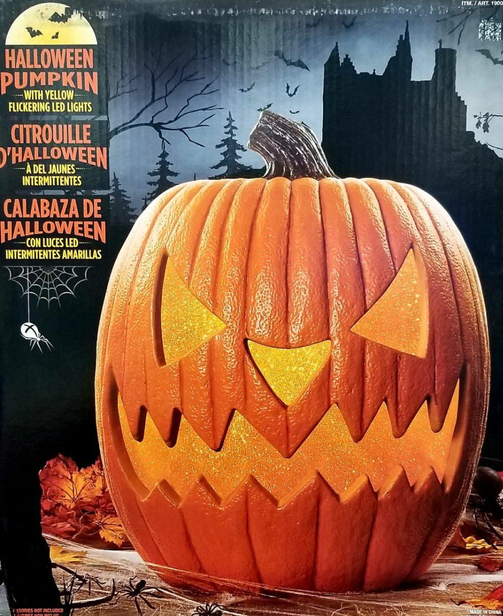 calabaza de halloween con luz led adorno envo gratis 84500 en mercado libre