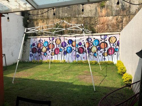 calacoaya: casa en fraccionamiento cerrado con jardín