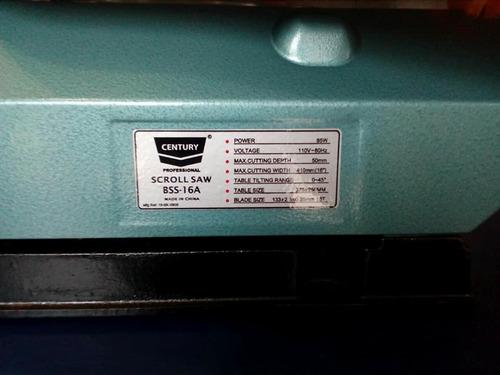 caladora eléctrica century sierra fina/100736