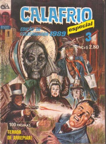 calafrio especial 3 edição de colecionador 1989 perfeita