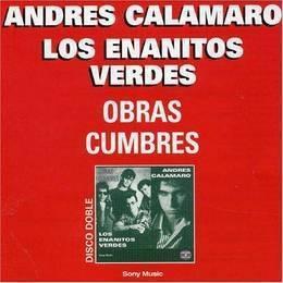 calamaro andres & enanitos verdes obras cumbres cd x 2 nuevo