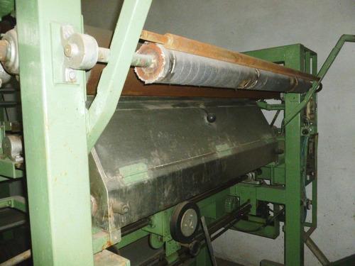 calandra plancha para tejido de punto tubular con vaporizado