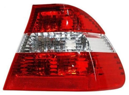 calavera bmw serie 3 02-04 rojo/blanco ext s/arnes