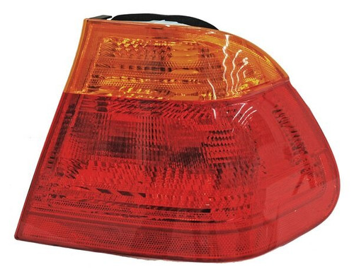 calavera bmw serie 3 1999-2000-2001 rojo/ambar ext + regalo