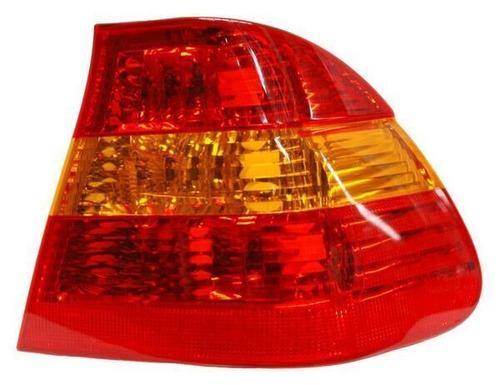 calavera bmw serie 3 2002-2003-2004-2005 rojo/ambar ext