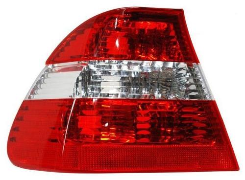 calavera bmw serie 3 2002-2003-2004 rojo/bco ext izquierda