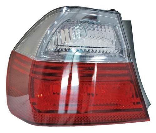 calavera bmw serie 3 2006-2007 rojo/bco ext oscura izquierda