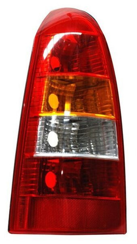 calavera chevrolet astra 2000 sw rojo/bco/ambar clara izqrdo