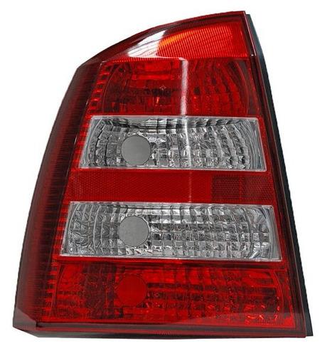 calavera chevrolet astra 2005 4puertas rojo/bco izquierda