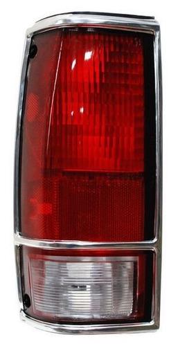 calavera chevrolet blazer 1990-1991 c/filo cromo derecha