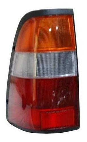calavera chevrolet luv doble cab 97 rojo/bco/ambr derecha
