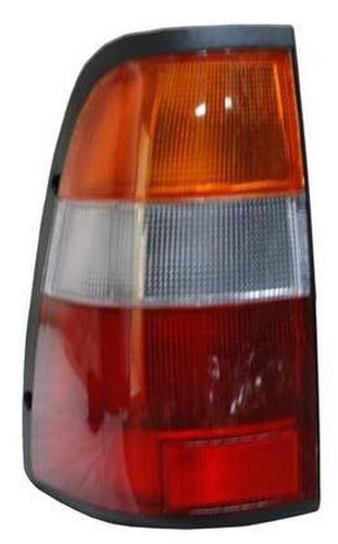 calavera chevrolet luv doblecab 2000 rojo/bco/ambr izquierda