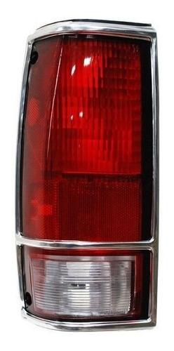 calavera chevrolet s10 92-93-94 c/filo cromo derecha