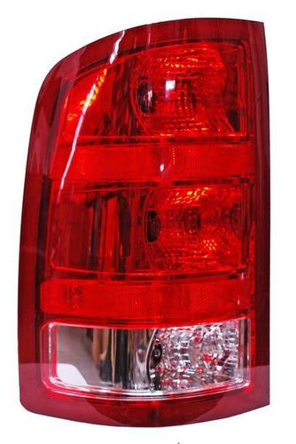 calavera chevrolet sierra 07-08-09-10 filo rojo derecha